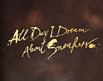 All Day I Dream About Sneakers - Story Book