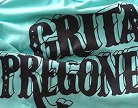 T-shirt Grita Pregonero