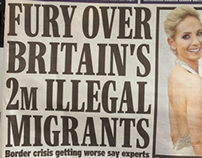 Daily Express Fury About Illegal Immigrants