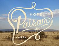 Hotel Paisano Rebrand