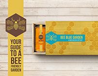 Bee Blue Garden