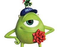 Disney Holiday Characters
