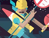 Lokal Heroes – Illustration