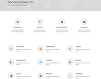 Service Boxes  Supreme Shortcodes Free VC Template