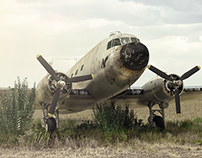 Old retired DC3