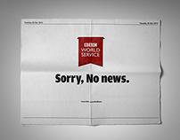 BBC World Service - Sorry No News