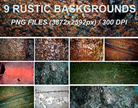 9 Rustic Backgrounds