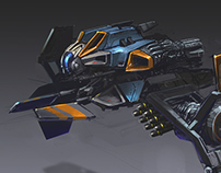 Ballistic Space Fighters