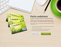 Landing page for Kantoria.com