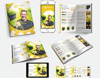 B2B Brochure for SunJack Portable Solar Charger