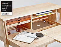sixtematic belle - 2:1 make up stand & writing desk