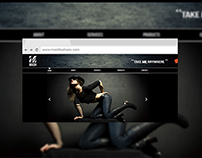 Web Design : Mash Fashions