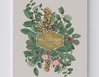 Milliarium magazine cover design