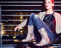 """""""Hangar Shoes"""" adv FW 2013/14"""