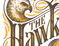 The Hawks Gig Poster