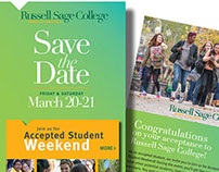 Save the Date Card - Accepted Student Weekend