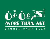 More Than Art summer camp 2014