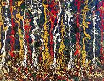 Homage to Pollock No.2