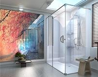 Sora Bathroom.Visualisation. 3Ds Max & Vray