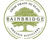 Bainbridge Distillers Labels created by Steven Noble