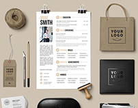 7 Resume Templates / Instant download