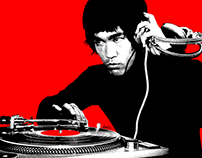 DJ Bruce for Hero Complex Gallery's Kung Fu Theater