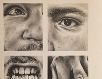 drawings of the face