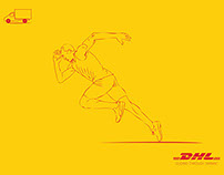 DHL World's fastest courier