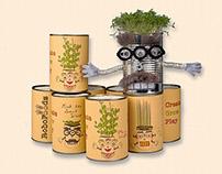 RoboFoodz sustainable toy project