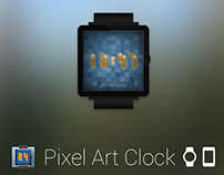 Pixel Art Clock for Android