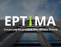 EPTIMA - Corporate Responsive WordPress Theme Launched