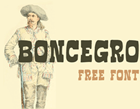 Boncegro FF (Free Typeface)