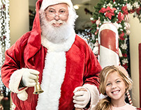 Retouching for Maringá Park Shopping Christmas Campaign
