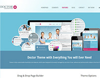 Doctor+ WordPress Translated Theme with Page Builder