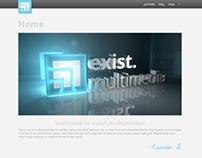 exist.multimedia: Site Re-Design