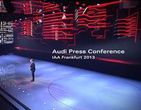 Audi Press Conference IAA 2013
