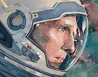 Interstellar (watercolor illustration)