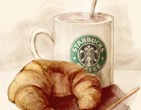Starbucks Illustrations