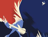 Washington Post, Cover illustration. Concert for Valor