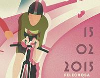 Winter Triathlon Poster Art/ 2014