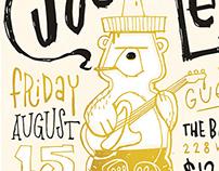 Black Joe Louis - Gig Poster