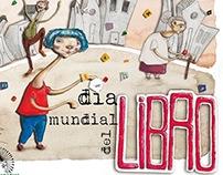 Cartel día Mundial del Libro