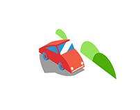 App Icon design for Parkloco