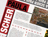Paula Scher Homage Broadside