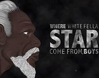 Google Eye: Where white fella star come from?