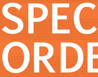 Special Orders Signage