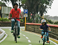 DIU SIGNAGE & CYCLE TRACK ACCOLADES - KYOORIUS