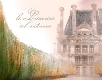 Le Louvre à l'Automne