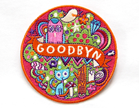 Goodbyn: Embroidered Patches