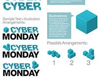 Amazon.com Black Friday/Cyber Monday Styleguide Concept